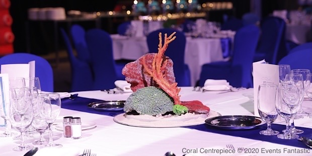 Coral Reef Centrepiece at corporate event