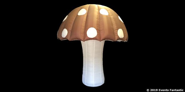 Inflatable Mushroom 4m