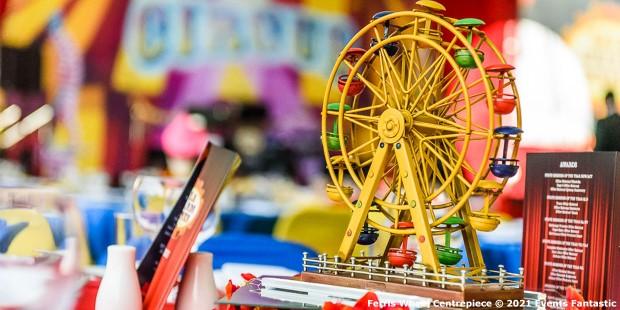 Ferris Wheel Centrepiece on Table